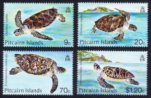 Pitcairn Turtles 4v SG#281-284 SC#266-269