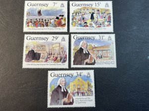 GUERNSEY # 362-366-MINT NEVER/HINGED--COMPLETE SET--1987