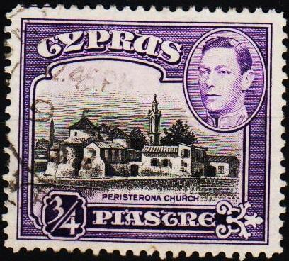 Cyprus.1938 3/4pi S.G.153 Fine Used