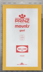 PRINZ BLACK MOUNTS 160X200 (10) RETAIL PRICE $15.00