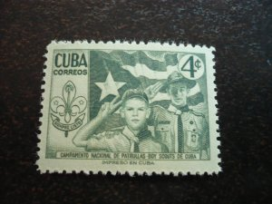 Stamps - Cuba - Scott#535 - Mint Hinged Single Stamp