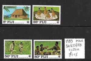 Fiji MNH 655-8 Commonwealth Day 1983