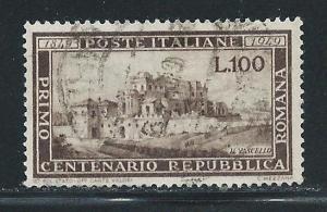 Italy 518 100th Roman Republic single Used (z2)
