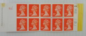 United kingdom  SC #BK730  Royal Mail MNH stamps