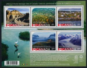 Canada 2857 MNH - UNESCO World Heritage Sites, Dinosaur Park