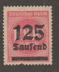 Germany 255 Numeral