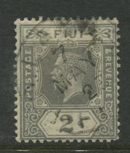 Fiji - Scott 98 - KGV - Definitive - 1922 - Used - Single 2p Stamp