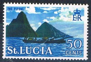 St Lucia 193 MLH The Pitons 1964 (HV0266)