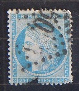 France, 1871-1873, Ceres, YT: FR60A, (1946-Т)