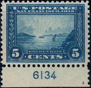 U.S. 399 FVF NH Plate Sgl. (52919)