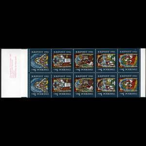 SWEDEN 1982 - Scott# 1424a Booklet-Christmas NH