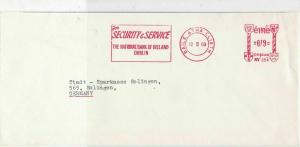 Ireland 1969 Commercial Machine Cancel Stamps Cover ref R 18661