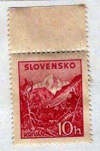 SLOVAKIA - #103 - UNUSED MINT NO GUM  - 1944 - SLOVA021DTS19