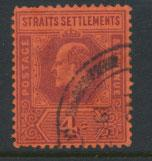 Straits Settlements Edward VII SG 112  Used