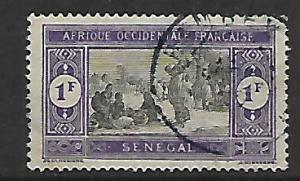 SENEGAL, 112, USED,SENEGALESE PREPARING FOOD