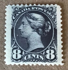 Canada #44b, VF-NH with large jumbo margin left and right- VGG 2014.  C$1600.00