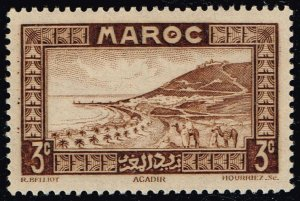French Morocco #126 Roadstead at Agadir; MNH (4Stars)