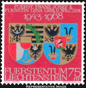 Liechtenstein Scott 446 Mint never hinged.