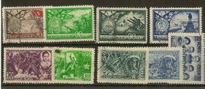 Russia 1942-44 Fine Used Selection (9v)
