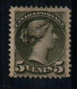 Canada Scott 42 Mint hinged (Catalog Value $200.00)