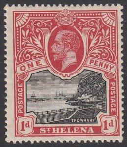St. Helena 62 MH CV $5.75