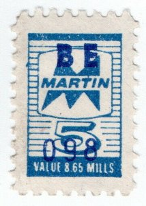 (I.B) US Cinderella : Trading Stamp 5c (Martin)
