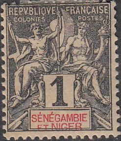 Senegambia & niger #1 MH  HR