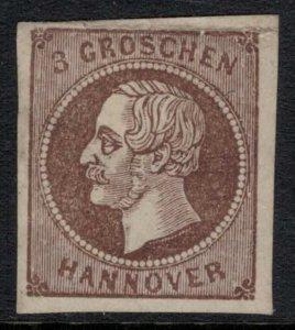 Hanover #23* no gum 4 margins. Spiro Forgery