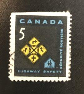Canada # 447 Used