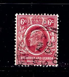 East Africa and Uganda 33 Used 1907 issue
