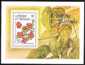 1984Antigua & Barbuda765/B76Flowers