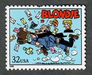 3000L Comic Strips:  Blondie MNH single