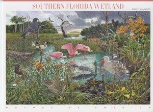 2006 USA Southern Florida Wetland Sheet of 10 (Scott 4009) MNH