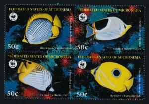 Micronesia 274 MNH WWF, Butterfly Fish