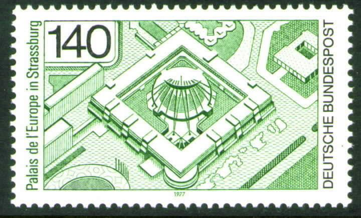 Germany Scott 1229 MNH** 1977 Strasbourg stamp