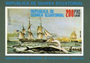 Equatorial Guinea Ships By Louis le Breton s/s Imperforated mnh.vf