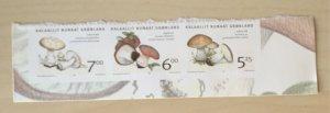 Greenland 2005 #449-51 MNH. Mushrooms