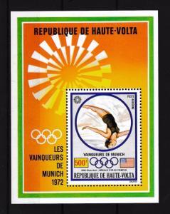 [55597] Burkina Faso Upper Volta 1972 Olympic games Munich Diving MNH Sheet