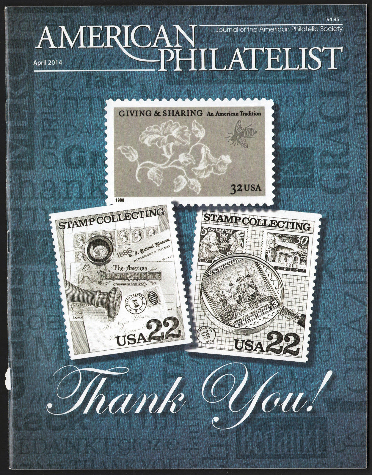 American Philatelist Magazine: 2014