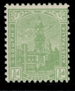 AUSTRALIA - South Australia EDVII SG293, ½d pale green, NH MINT. Cat £18.