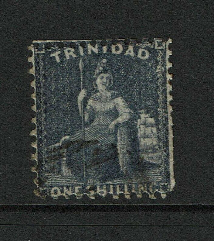 Trinidad SG# 63 Used / Short Perfs - S6253