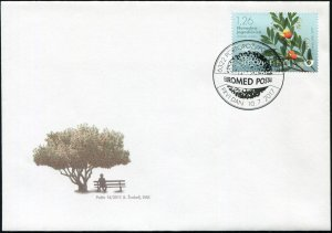 Slovenia. 2017. Trees of the Mediterranean (Mint) First Day Cover