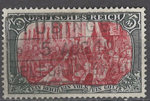COLLECTION LOT OF #1161 GERMANY  # 78 1902 CV=$19