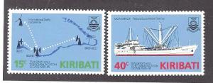 Kiribati  Scott 468-469  MNH  Complete