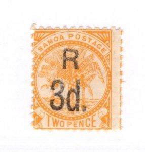 Samoa #25 MH - Stamp CAT VALUE $10.00
