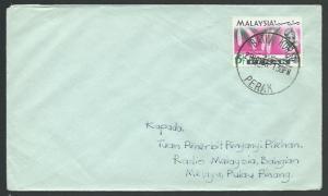 MALAYSIA PERAK 1966 cover BATU KURAU cds...................................60488