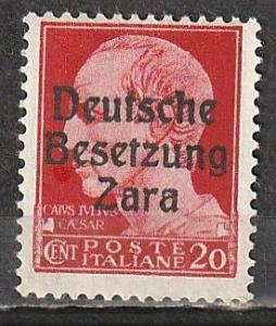 Zara German Occupation Mint OGNH