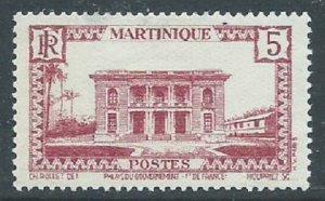 Martinique, Sc #137, 5c MH