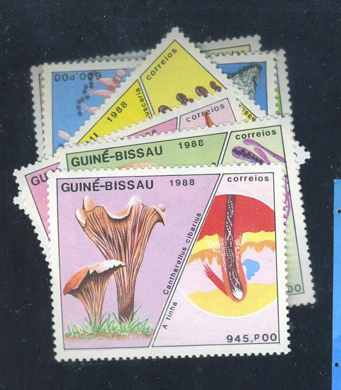 Guinea-Bissau #765-71 MINT VF NH Cat$26