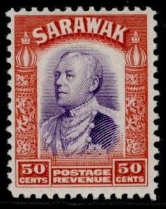 SARAWAK GV SG119, 50c violet & scarlet, M MINT. Cat £12.